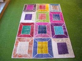 Patchwork rug Multi 16 - 4x6 ft. (121x182 cm) - $369.00