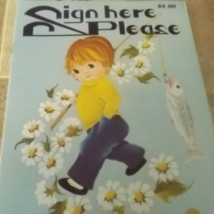 Sign Here Please by Daisy Book Tole Painting Transfers Patterns - 1979 - $3.00