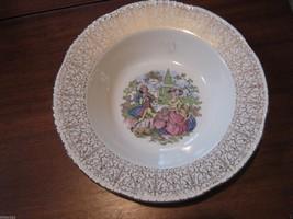 Beautiful Vintage Homer Laughlin (Georgian?) Bowl Lavished in Gold  - $6.95