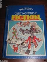 Book Walt Disney Great Moments in Fiction 1977 Golden Press - $9.94