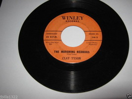 Comedy Novelty 45 CLAY TYSON The Marching Bedbugs on Winley - $9.95