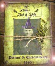 HAUNTED BOOK SPECIAL HALLOWEEN HELDA'S LIST OF COMMANDS MAGICK IN YOUR H... - $777.77