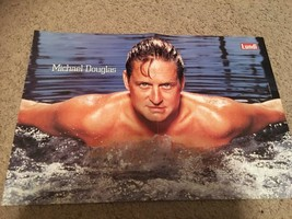 Michael Douglas teen magazine poster clipping shirtless swimmer Lundi Bop
