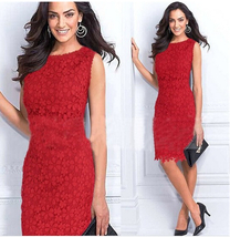 Trendy Fashion Women Bandage Bodycon Lace Evening Sexy Party Cocktail Mi... - $17.50