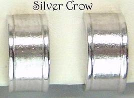 Vintage Coro Silver Tone Hoop Earrings - $8.99