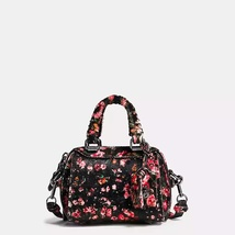 Coach Ace Mountain Buds Black/Pink Printed Hair... - $805.99