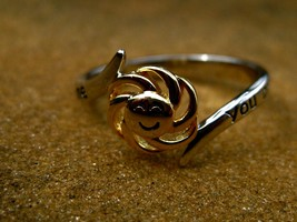 Haunted You are my Sunshine spell cast ring to bring light and happiness - $55.00