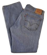 "Levi's 505 Regular Fit Straight Leg Red Tab Jeans Men's Waist 36"" X Leg 34"" - $28.66"