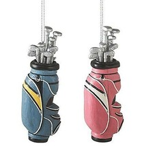 Golf Bags For Man&Woman 2 Set Blue&Pink Midwest... - $11.83