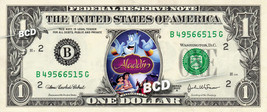 ALADDIN MOVIE Disney on REAL Dollar Bill Cash Money Memorabilia Collectible - $6.66