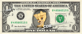 ANGEL Lady & Tramp Disney on REAL Dollar Bill Cash Money Memorabilia Col... - $6.66
