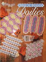 Mile-a-Minute Doilies, Home Decor The Needlecraft Shop Crochet Pattern 9... - $6.95