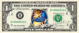 BEAUTY & BEAST Movie Disney on REAL Dollar Bill Cash Money Memorabilia - $6.66