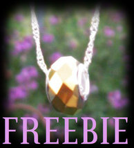 FREEBIE Hawaiian Magick Serenity Charm Spell European Bead Protection FR... - $0.00