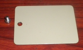 Brother Coronado Princess Arm Rear Square Inspection Plate w/Mounting Screw - $8.00