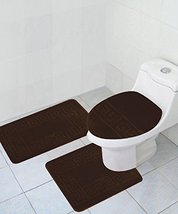 "Homemusthaves 3 Piece Bath Rug Set Pattern Bathroom Rug (20""x32"") large ... - $25.25"