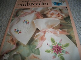 Teach Yourself to Embroider - $10.00