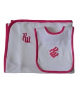 Rocawear Baby Girls 12 Mos. Bib and Receiving Blanket Set - $4.99