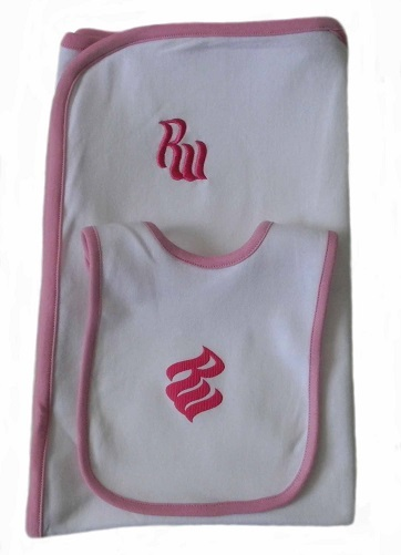 Rocawear blanket set  lt pk 50