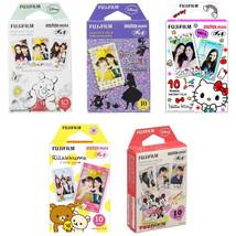 Pooh, Alice, Hello Kitty, Rilakkuma, Mickey FujiFilm Instax Mini Film 50... - $43.99