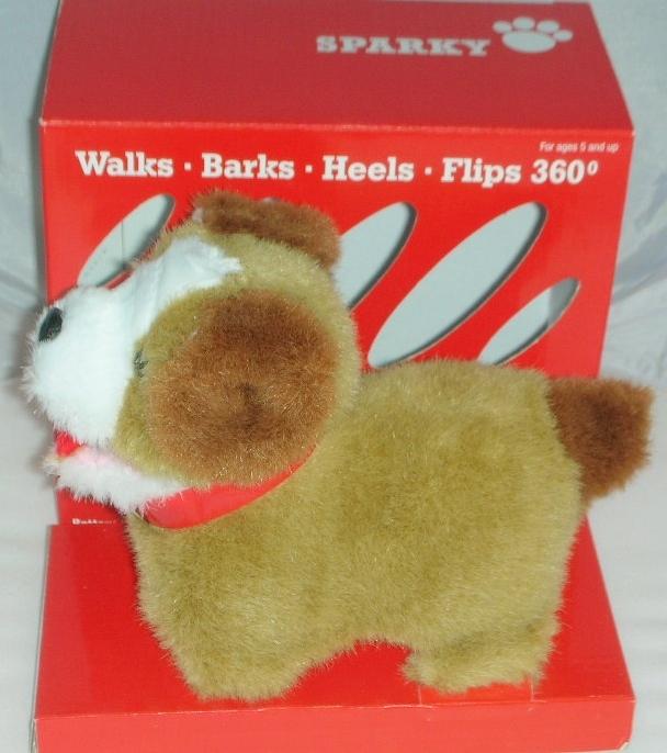 Sparky dog childs toy  5