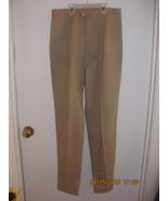 JAMIE Z-BEIGE LONG STRETCHY PANTS SIZE 10-FRONT ZIPPER & BUTTON-NO POCKETS - $5.00
