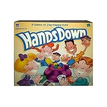 "1999 Hasbro ""Hands Down"" Game By Milton Bradley - $15.99"