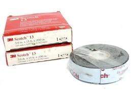 LOT OF 2 NIB SCOTCH 13 ELECTRICAL SEMI-CONDUCTING TAPE 3/4'' X 15FT X .030''