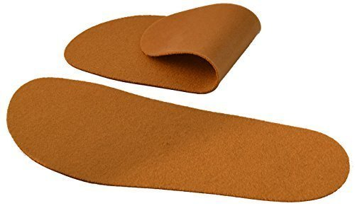 SoxsolS Washable Shoe Inserts Wool Cork(Brown) 105W 9M