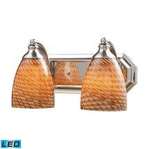 Elk Lighting 570-2N-C-LED Vanity Light Satin Nickel - $212.00