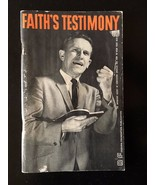 Faith's Testimony by T.L. Osborn rare out of print vintage healing - $199.00