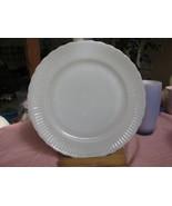 ANCHOR HOCKING & FIRE KING DINNER PLATE MILKGLA... - $4.99
