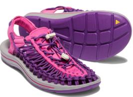 Keen Uneek Size 7 M (B) EU 37.5 Women's Sport Sandals Shoes Bright Rose Purple