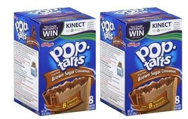Kellogg's Pop Tarts Frosted Brown Sugar Cinnamon Toaster Pastries 2 Box ... - $16.42