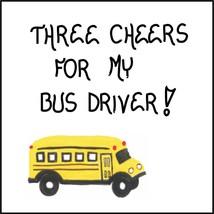 Refrigerator Magnet School Bus Driver - $3.95