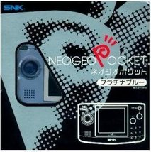 Neo Geo Pocket Platinum Blue B/W Handheld Console [Not Machine Specific] - $57.77