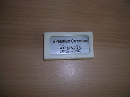 VTG 1970s Wilkinson Sword 5 Premium Chromium blades Holder, Only 1 blade... - $5.00