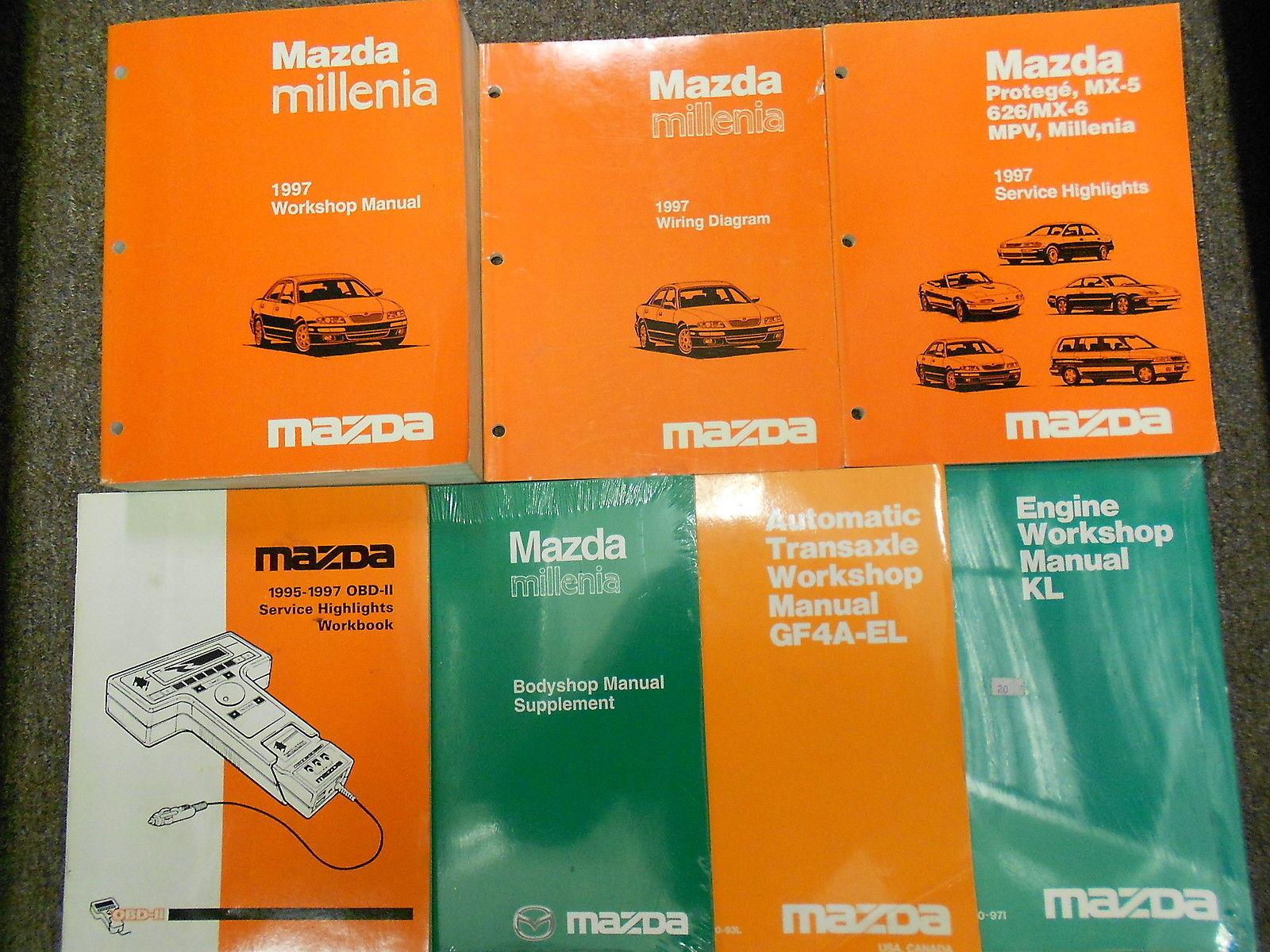 1997 Mazda Millenia Service Repair Shop Manual HUGE SET FACTORY OEM BOOKS 97