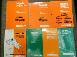 1997 Mazda Millenia Service Repair Shop Manual Huge Set  Factory Oem Books 97 - $128.65