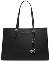 Michael Kors Jet Set Saffiano Leather Medium Ea... - $286.60
