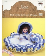 Nora Bed Dolls & Sweet Dreams Doll Outfit Crochet Pattern/Instructions Leaflet - $2.49