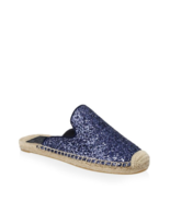 Tory Burch Max Glitter Espadrille Slides Shoes 5  MSRP: $228.00 - $148.49