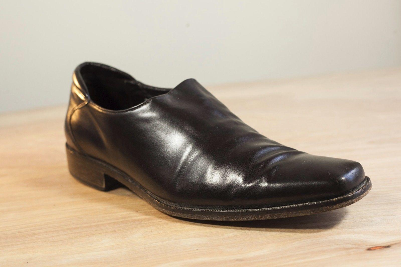 de88c3f7306 57. 57. Previous. Donald J Pliner Rex 8.5 Black Slip On Men s Stretch  Loafer Nappa Leather · Donald ...