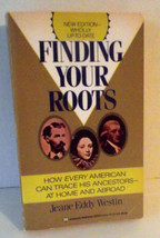 Genealogy Finding Your Roots Jeane Westin Ancestors Family Tree History ... - $9.89