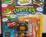1991 Teenage Mutant Ninja Turtles Talkin Michaelangelo Figure In The Package