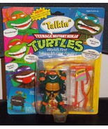 1991 Teenage Mutant Ninja Turtles Talkin Michaelangelo Figure In The Pac... - $39.99