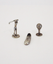 Monopoly Golf Tokens Woman Golfer Golf Shoe Golf Ball On Tee - $7.99