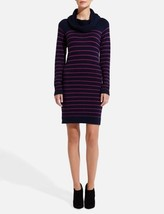 The Limited Striped Cowlneck Sweater Dress, size M, NWT - $50.99
