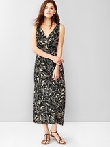 Gap Print V-neck maxi dress, size 12, NWT - $45.00