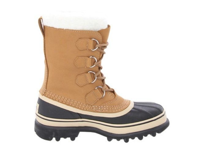 Sorel Caribou Snow Boot. size 8.5 M, Tan, NIB